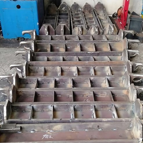 Flight Bar Parts of the Transfer Tool of Coal