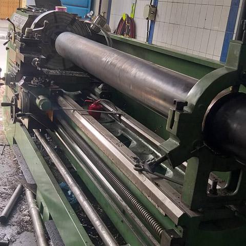 Rubber Roll Repair Shaft